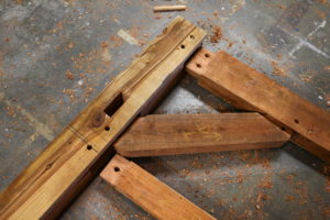 redwood joinery