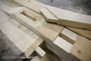 Swinging Bench Israel Mortise and Tenon