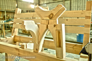 Dov Bench Joinery sculpture